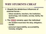 why students cheat7
