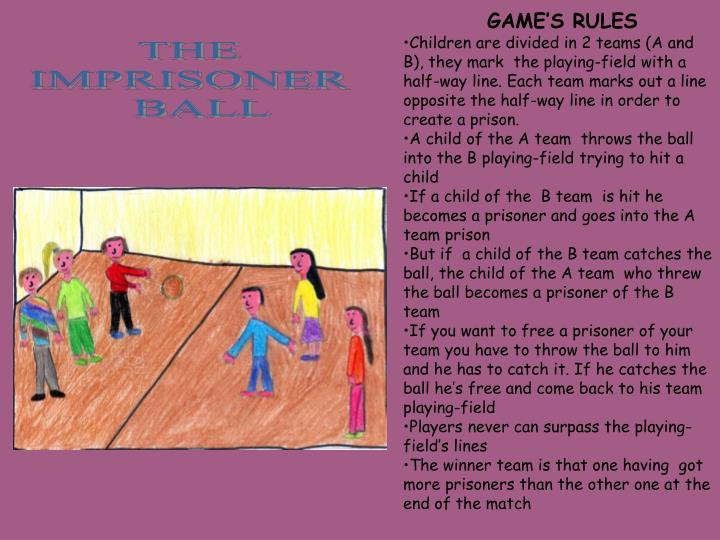 GAME'S RULES