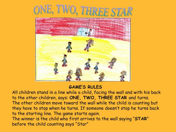 ONE, TWO, THREE STAR