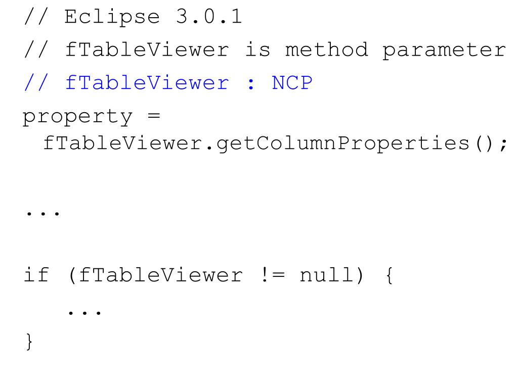 // Eclipse 3.0.1