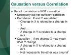 causation versus correlation