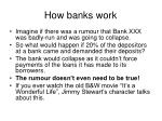 how banks work1