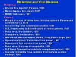 rickettsial and viral diseases