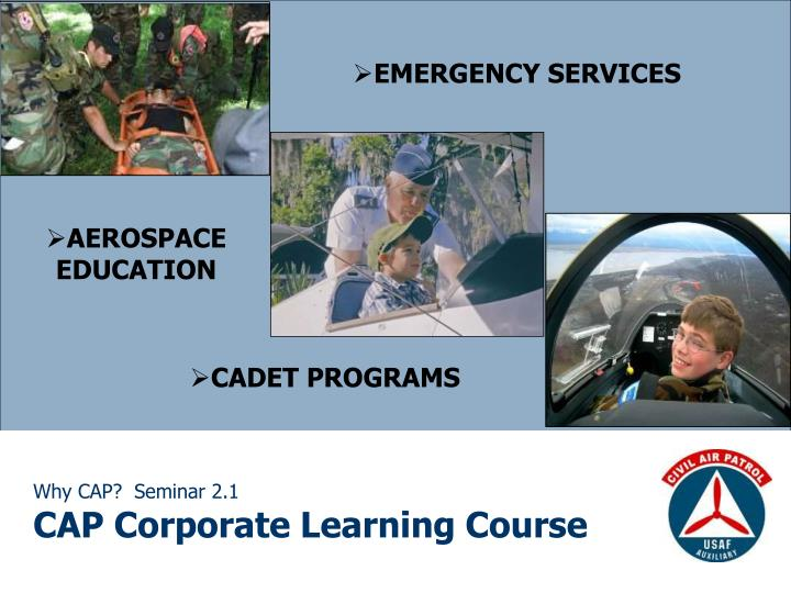 why cap seminar 2 1 cap corporate learning course n.