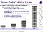 nexsan iseries highly scalable