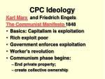 cpc ideology