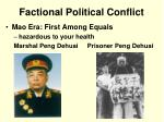 factional political conflict