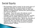 social equity1