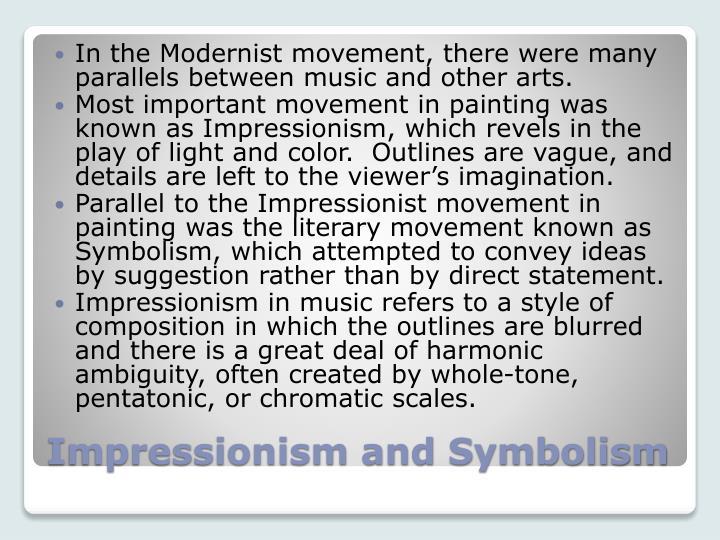 Ppt Impressionism And Symbolism Primitivism Powerpoint