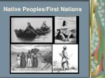 native peoples first nations