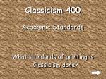 classicism 400