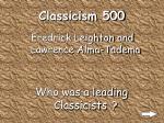 classicism 500