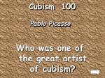 cubism 100