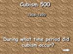 cubism 500