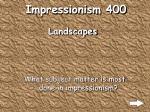 impressionism 400