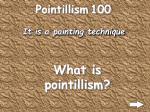 pointillism 100