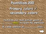pointillism 200