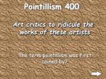 pointillism 400