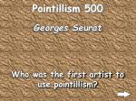 pointillism 500