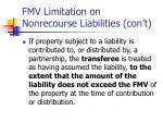 fmv limitation on nonrecourse liabilities con t