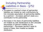 including partnership liabilities in basis 752
