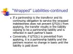 wrapped liabilities continued1