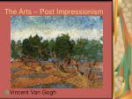 the arts post impressionism