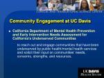 community engagement at uc davis