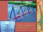 fitness equipment for the elderly1