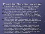 prescription remedies isotretinoin