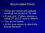 accumulated points1