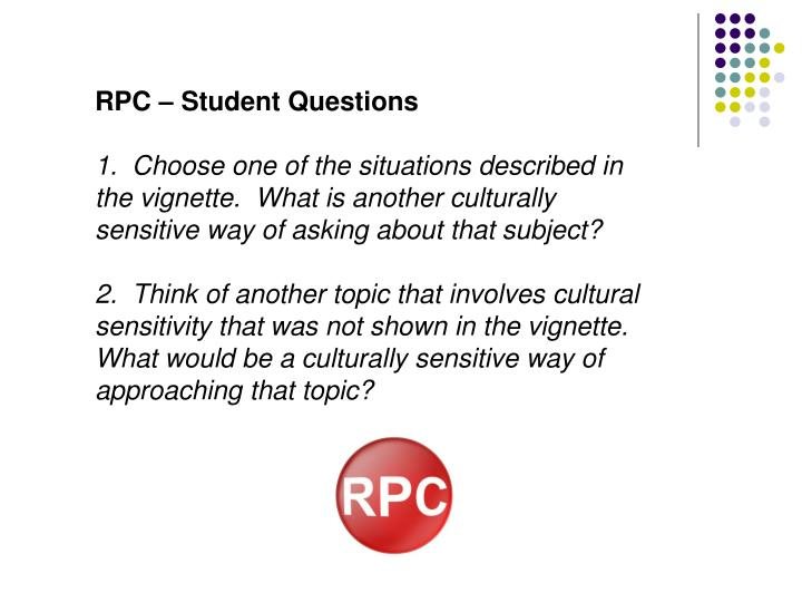RPC – Student Questions