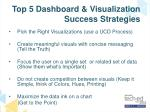 top 5 dashboard visualization success strategies