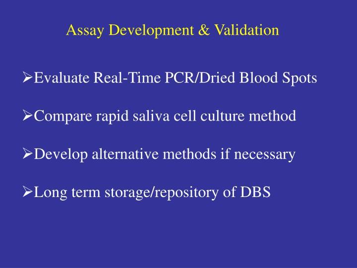 Assay Development & Validation