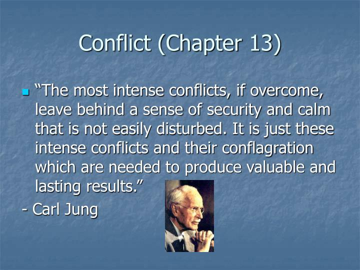 conflict chapter 13 n.