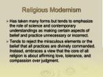 religious modernism