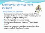 making your services more inclusive1