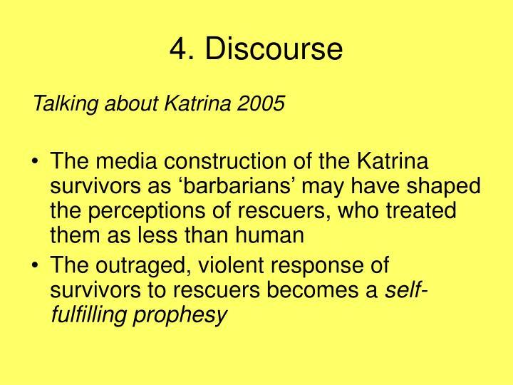 4. Discourse