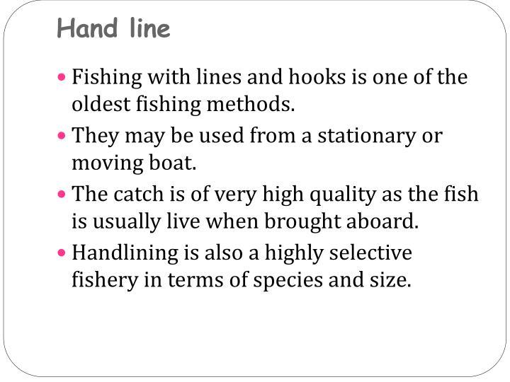 Hand line