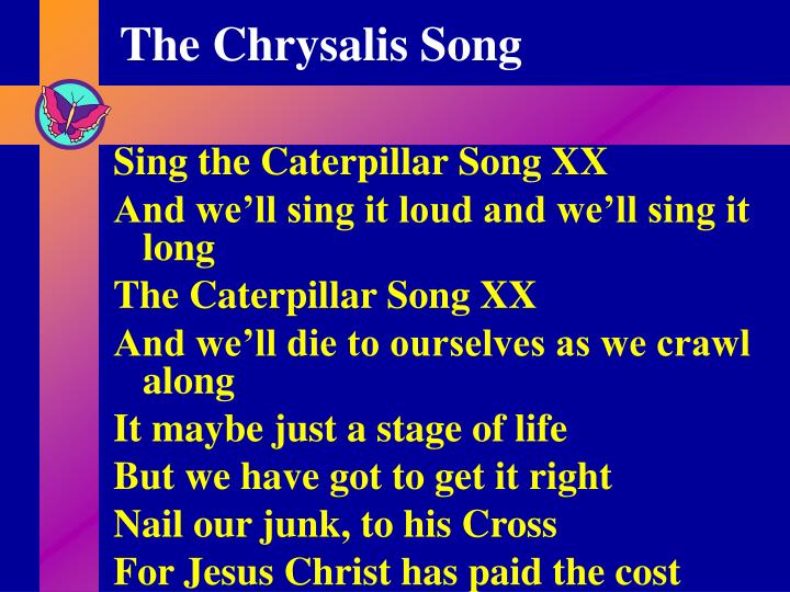 the chrysalis song n.
