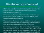 distribution layer continued1