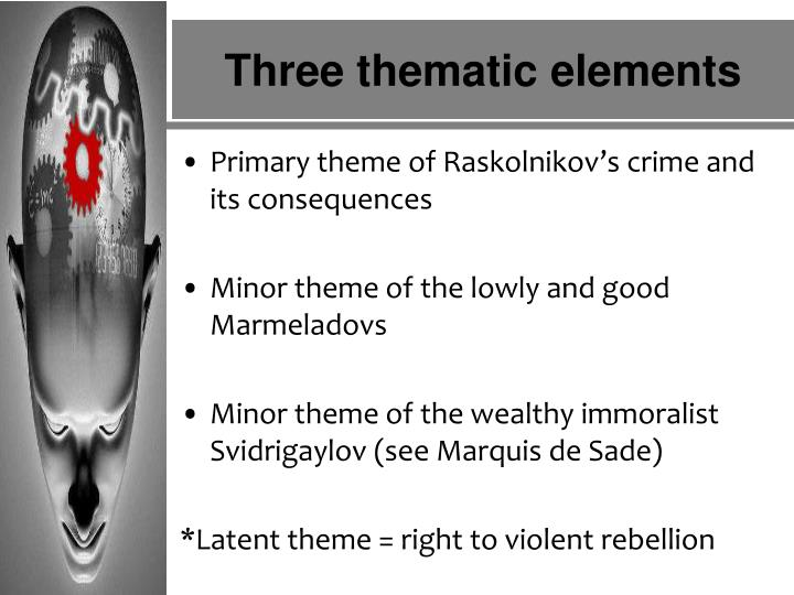 an analysis of raskolnikovs suffering in crime and punishment by fyodor dostoevsky The redeemed prostitute in dostoevsky's crime and punishment and other works by john barthelette the prostitute is a curious fixture of victorian era literature.