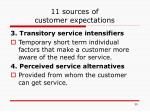 11 sources of customer expectations1