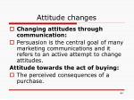 attitude changes1