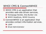 whoi cms connectwhoi