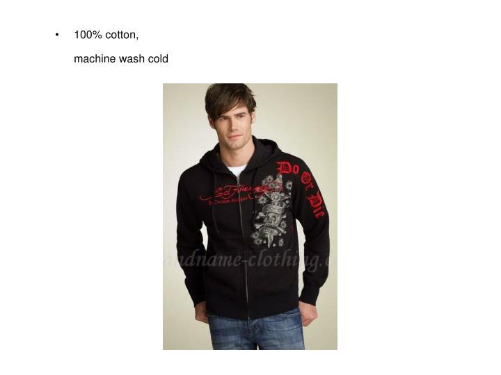 100% cotton,