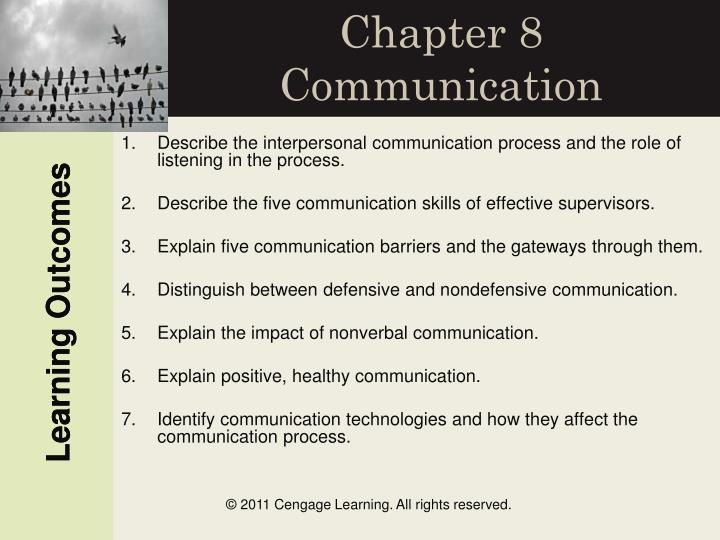 chapter 8 communication n.
