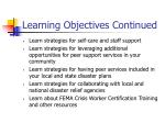 learning objectives continued1