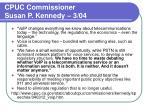 cpuc commissioner susan p kennedy 3 04