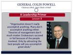 general colin powell chairman ret joint chiefs of staff